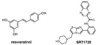 resveratrol and SRT1720 molecule