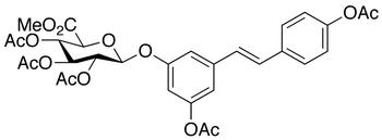 resveratrol-glucuronate